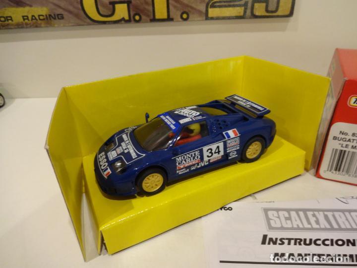 Scalextric: Scalextric. Bugatti EB110. Le Mans. Ref. 83860 - Foto 2 - 261122260