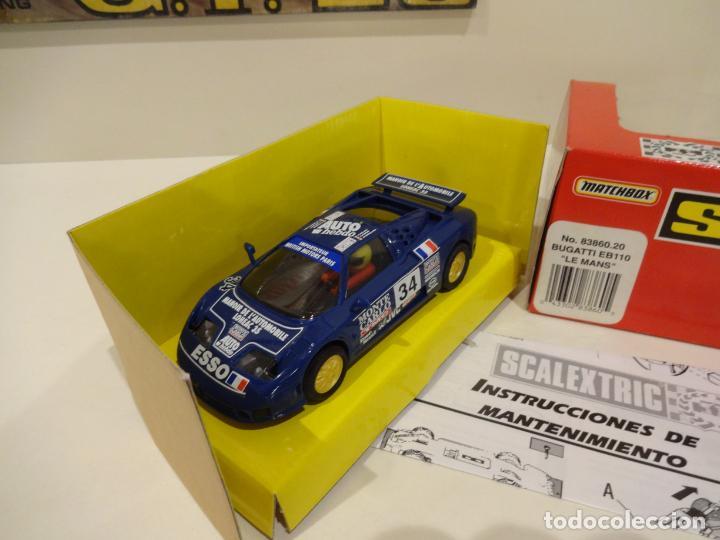 Scalextric: Scalextric. Bugatti EB110. Le Mans. Ref. 83860 - Foto 3 - 261122260