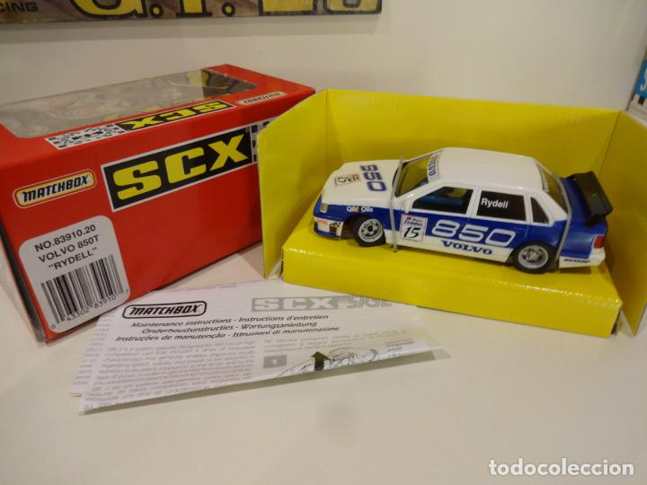 SCALEXTRIC. VOLVO 850 SRS2 RYDELL. REF. 83910 (Juguetes - Slot Cars - Scalextric Tyco)