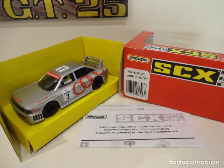 SCALEXTRIC. AUDI 90 DUNLOP. REF. 83960 (Juguetes - Slot Cars - Scalextric Tyco)