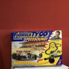Scalextric: FORMULA TYCO SPEEDSOUND NIGEL MANSELL . BUEN ESTADO . VER FOTOS. Lote 262326980