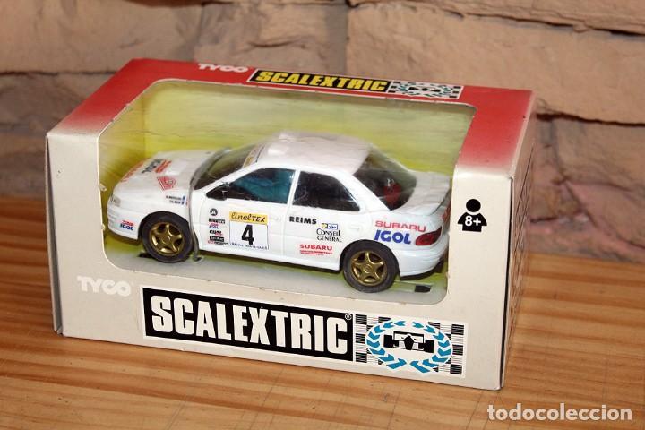 SCALEXTRIC TYCO - SUBARU IGOL - REF. 8358 - NUEVO Y EN SU CAJA ORIGINAL - AÑO 1993 (Juguetes - Slot Cars - Scalextric Tyco)