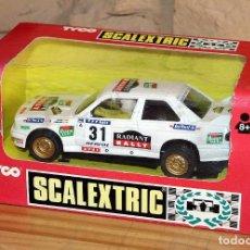 Scalextric: SCALEXTRIC TYCO - BMW M3 RABIANT - REF. 8397.09 - PILOTO PEP BASSAS - NUEVO Y EN SU CAJA ORIGINAL. Lote 262614945
