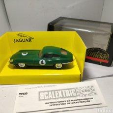 Scalextric: SCALEXTRIC JAGUAR E VINTAGE TYCO REF. 8371. Lote 263533990