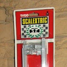 Scalextric: SCALEXTRIC TYCO - 6 VALLAS GRISES - REF. 8695 - NUEVAS Y EN SU BLISTER - A ESTRENAR. Lote 267768314
