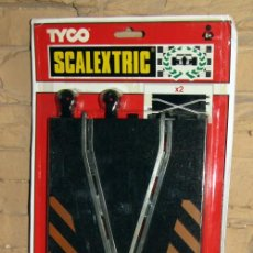 Scalextric: SCALEXTRIC TYCO - 2 PISTAS CRUCE - REF. 8408 - NUEVAS Y EN SU BLISTER - A ESTRENAR. Lote 267768629