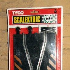 Scalextric: SCALEXTRIC TYCO - 2 PISTAS CRUCE - REF. 8408 - NUEVAS Y EN SU BLISTER - A ESTRENAR. Lote 267768634