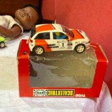 Scalextric: SEAT IBIZA ROBERT MERCADER - SCALEXTRIC .BUEN ESTADO. Lote 268427444