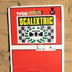 Scalextric: SCALEXTRIC TYCO - BLISTER KIT DE PUESTA A PUNTO - 8680.09 - NUEVO A ESTRENAR. Lote 274167843