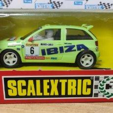 Scalextric: SEAT IBIZA REPSOL TYCO SCALEXTRIC. Lote 277239908