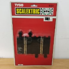 Scalextric: BLISTER 1/4 RECTA 2UDS SCALEXTRIC TYCO. Lote 278362943