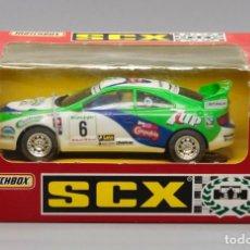 Scalextric: TOYOTA CELICA GT-FOUR 7UP EL CORTE INGLÉS (SCALEXTRIC) SIN ABRIR. Lote 278598943