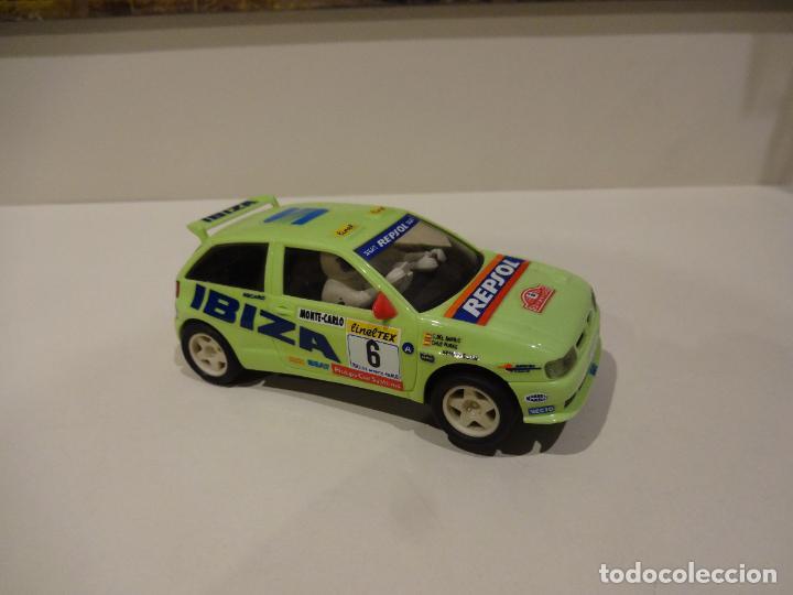 Scalextric: Scalextric. Seat Ibiza kit car. Chus Puras. - Foto 2 - 286351143