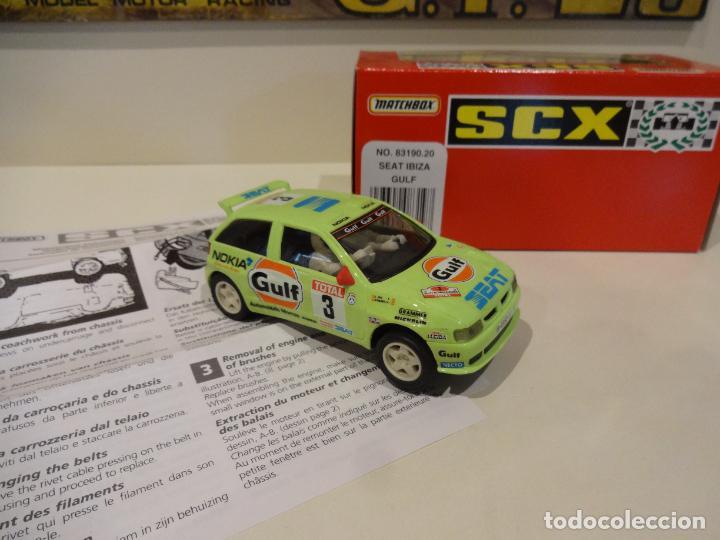 Scalextric: Scalextric. Seat Ibiza Gulf. Ref. 83190 - Foto 3 - 287067008