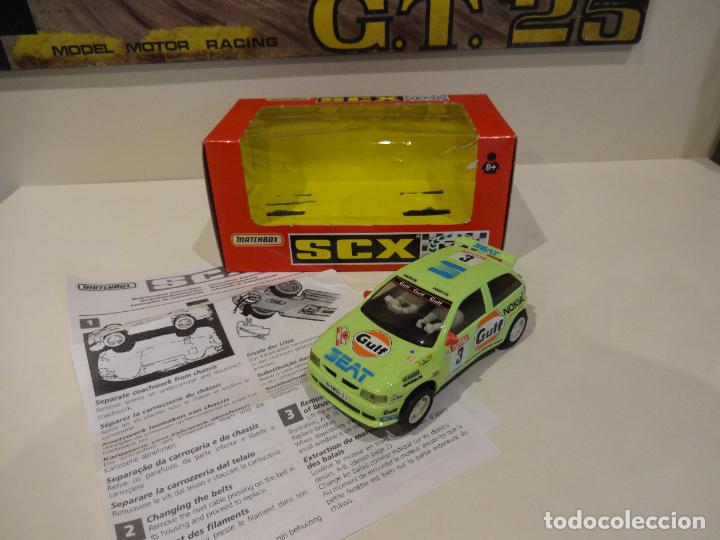 SCALEXTRIC. SEAT IBIZA GULF. REF. 83190 (Juguetes - Slot Cars - Scalextric Tyco)