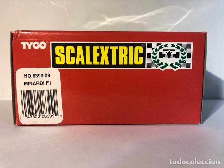 Scalextric: Minardi F1 blanco scalextric tyco scx n23 no.8399.09 - Foto 2 - 287716128