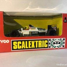 Scalextric: MINARDI F1 BLANCO SCALEXTRIC TYCO SCX N23 NO.8399.09. Lote 287716128