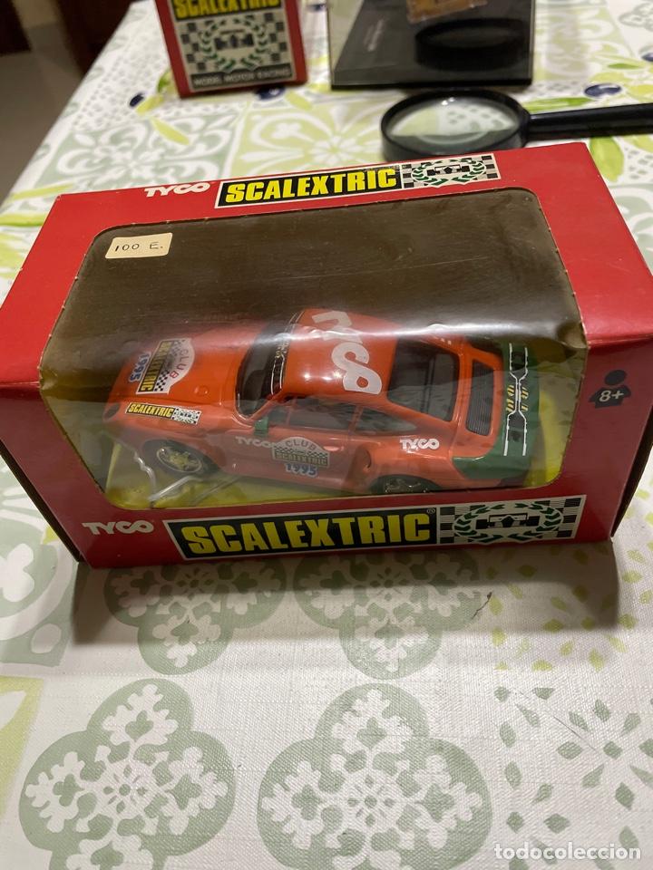 PORSCHE 959 CLUB SCALEXTRIC TYCO, NUEVO EN SU CAJA (Juguetes - Slot Cars - Scalextric Tyco)