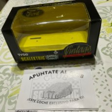 Scalextric: CAJA ORIGINAL DE FORD GT 40 VINTAGE SCALEXTRIC TYCO. Lote 293638408