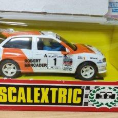 Scalextric: SEAT IBIZA ROBERT MERCADER SCALEXTRIC TYCO. Lote 296064713