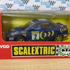 Scalextric: SUBARU IMPREZA SCALEXTRIC TYCO. Lote 296065613