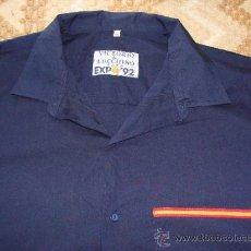 Segunda Mano: CAMISA DE VICTORIO & LUCCHINO PARA LA EXPO DE SEVILLA 92 1992. TALLA 46. . Lote 36384285