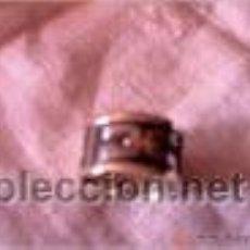 Segunda Mano - Anillo en plata 950mmg pureza. Líneas de Nazca .18mm . Año 1996 - 36428577