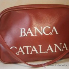Segunda Mano: ANTIGUO Y ORIGINAL BOLSO DE LA BANCA CATALANA. Lote 38511669