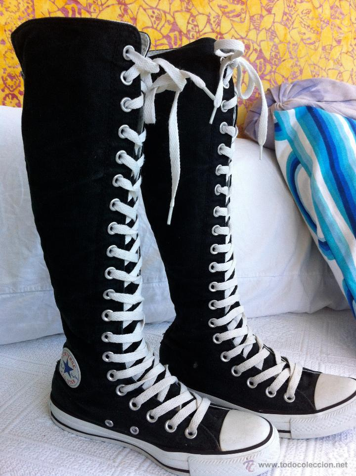 all star converse negras altas