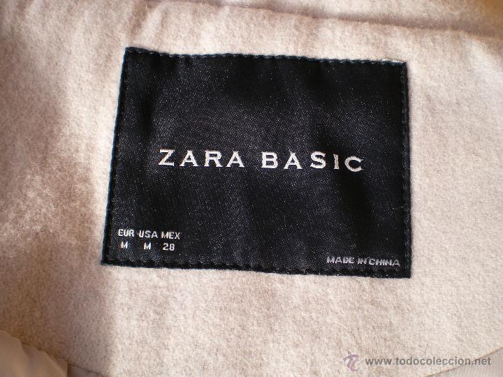 Segunda Mano: Abrigo Chaqueta Zara talla M mediana. - Foto 7 - 39969002