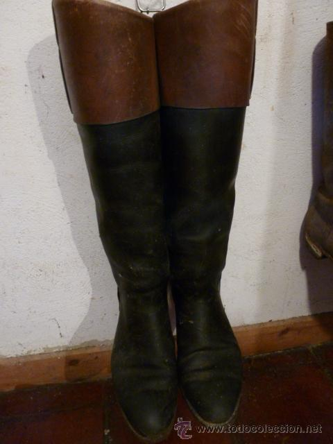 Antiguas botas de montar a caballo talla 42 h comprar for Botas montar a caballo