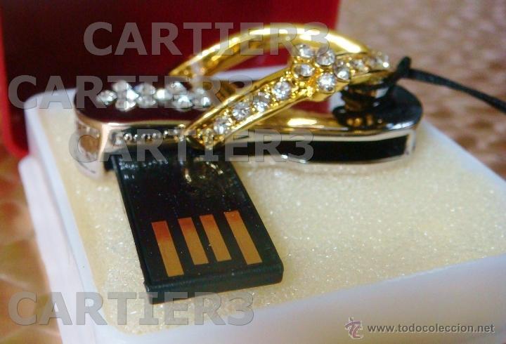 Segunda Mano: USB 8 GB SWAROVSKI CRYSTAL CROMO & CHAPADO ORO 18K PIEZA DE COLECCIÓN - LUJO ¡¡¡SOLO HOY!!!! - Foto 35 - 41231182