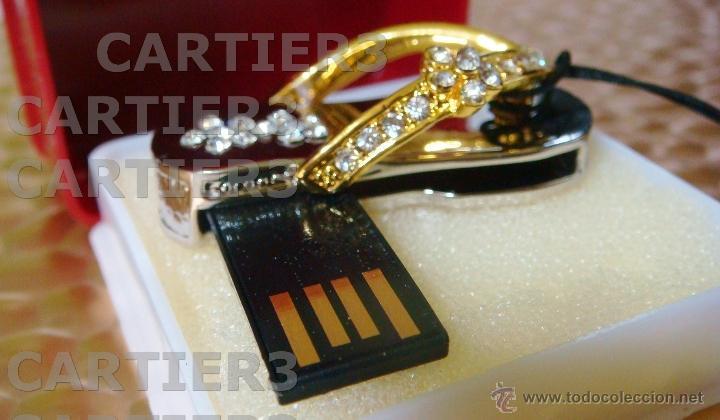 Segunda Mano: USB 8 GB SWAROVSKI CRYSTAL CROMO & CHAPADO ORO 18K PIEZA DE COLECCIÓN - LUJO ¡¡¡SOLO HOY!!!! - Foto 38 - 41231182