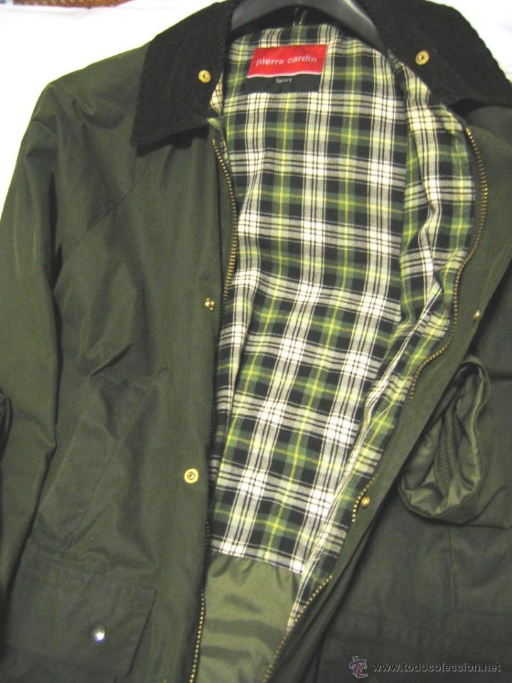 chaqueta tipo barbour marca pierre cardin - Comprar ropa y