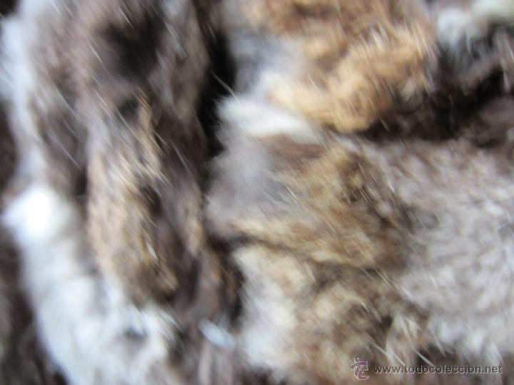 Segunda Mano: Cazadora de piel de zorro combinada con lana , talla L - Foto 4 - 154733406