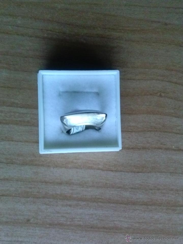Segunda Mano: Anillo en plata 925mmg pureza con nacar - Foto 2 - 38820668