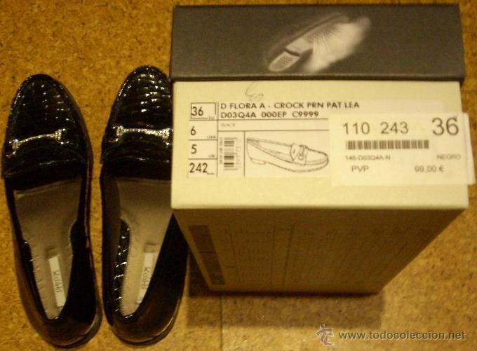Mujer Precio 99 Zapatos Respira Geox Negro gqdgzwAZ