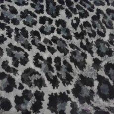 Segunda Mano: FOULARD LEOPARDO GRIS 40 X 1,70. Lote 44751511