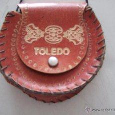 Segunda Mano: BOLSO CUERO TOLEDO. Lote 44776283
