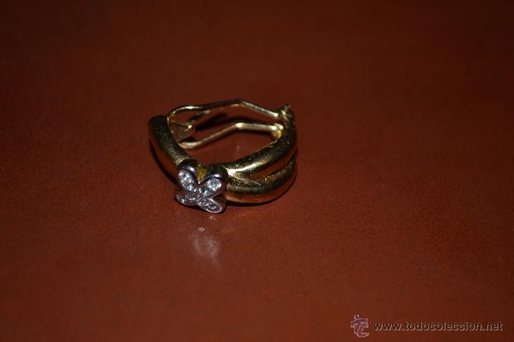 Segunda Mano: Dos pares de pendientes de bisutería, acero y metal dorado. - Foto 5 - 45992452