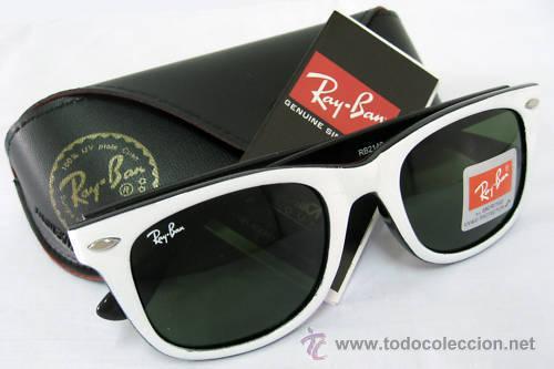 gafas ray ban montura blanca