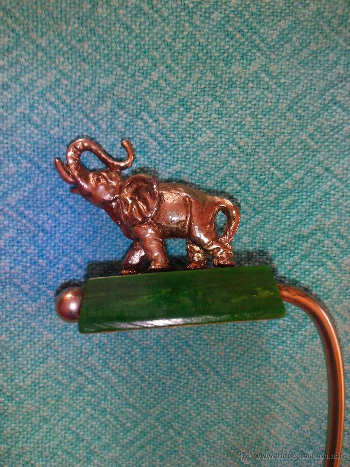 Segunda Mano: Original colgador de bolsos portátil ,elefante de metal. - Foto 3 - 48872725