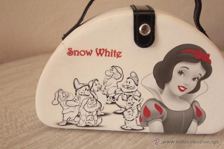 White En Ref3500 Interior Bolso Espejo El Snow Con Blancanieves Vintage eCxWQrdBoE