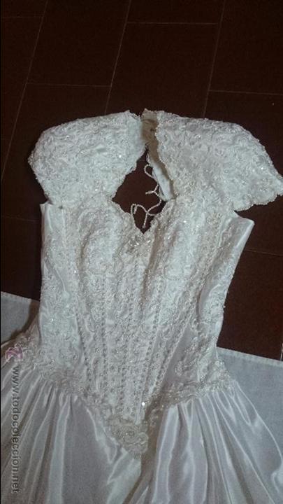 vestido traje de novia pronovias con cuerpo de - comprar ropa y