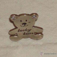 Segunda Mano - osito plateado luchi bear adorno para un cinturon o bolso - 50674672