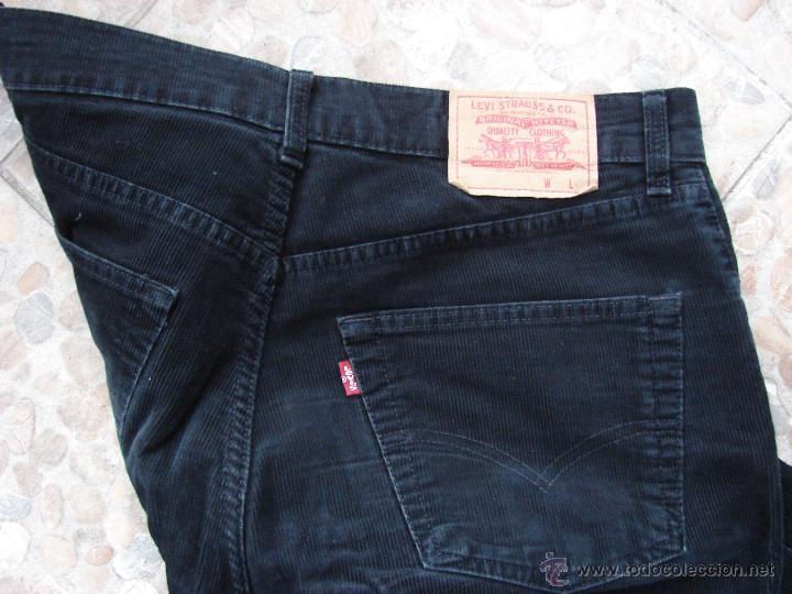 Pantalon Levis De Pana De Caballero Negro Sold Through Direct Sale 53285175