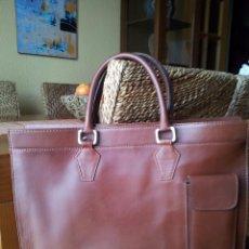 Zweite Hand - Cartera de piel 1º calidad color camel - 54162801