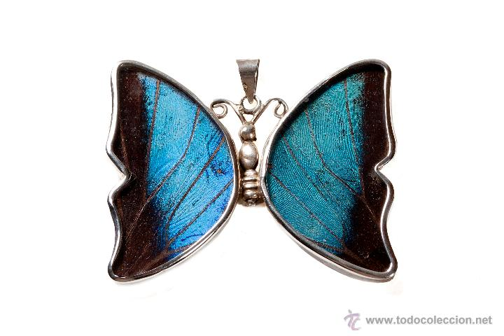 Segunda Mano: Dije en plata 950 mmg pureza con mariposa (año 80) no incluye argolla plata - Foto 2 - 27215948