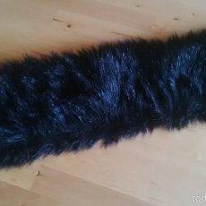 Segunda Mano - cuello de pelo / piel sintética negra para abrigo - 55387841