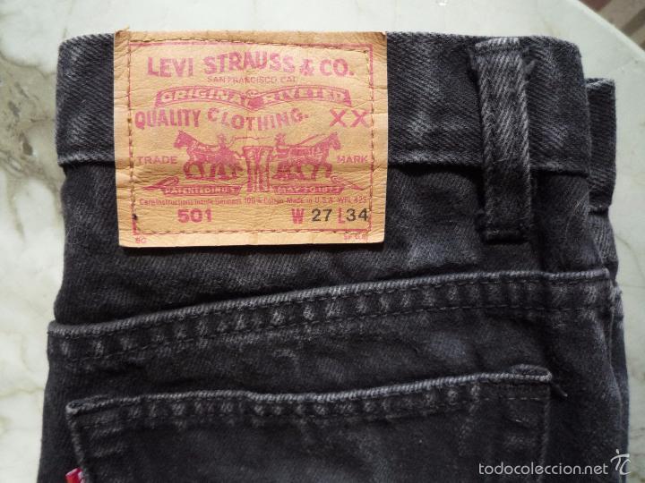 Pantalon Vaquero Levi S 501 Made In Usa Short Comprar Ropa Y Complementos De Segunda Mano En Todocoleccion 55688429